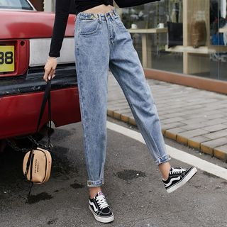 DREE - Cropped Baggy Jeans