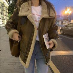 Shopherd(ショパード) - Lambswool Long-Sleeve Jacket