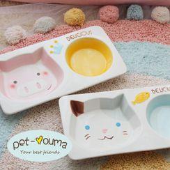Puppis - Ceramic Pet Bowl