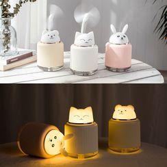 YOLIMEI - Cat USB Humidifier with Night Lamp