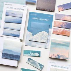 Ms Zaa - Cloud / Scenery Print Sticky Note