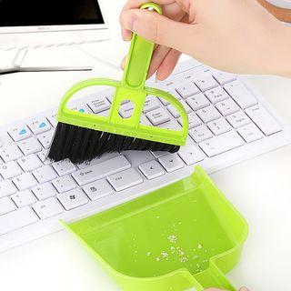 Qiqu - Set: Mini Broom + Dustpan
