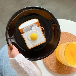 Lampascione - Egg On Toast Silicone AirPods Case Cover