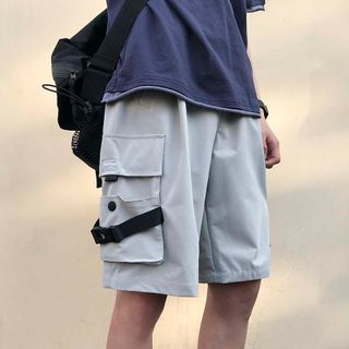 MIKAEL - Buckled Cargo Shorts