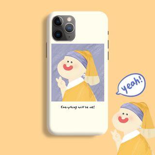 Handy Pie - Painting Print Mobile Case - iPhone 11 Pro Max / 11 Pro / 11 / XS Max / XS / XR / X / 8 / 8 Plus / 7 / 7 Plus / 6s / 6s Plus