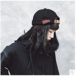FROME - Embroidered Beret Hat