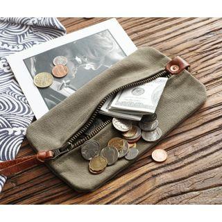 Wavecho - Canvas Long Wallet
