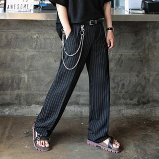 MRCYC - Pinstriped Straight-Cut Dress Pants