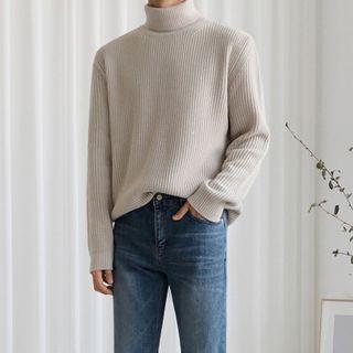 MRCYC - Turtleneck Ribbed Sweater