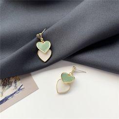 Madikara - Heart Drop Earrings