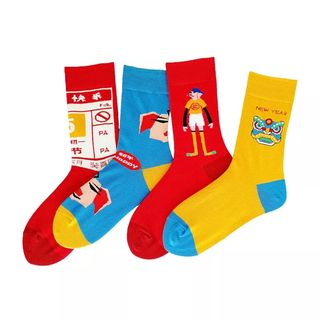 Sockaday(ソッカデイ) - Pattern Socks (Various Designs)