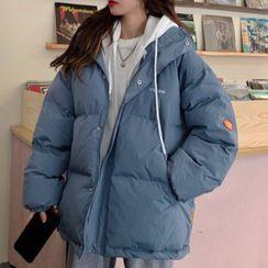 ELVUS - Hooded Zip Padded Coat