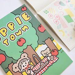 Momoi - Cartoon Print Sticker Collector Album