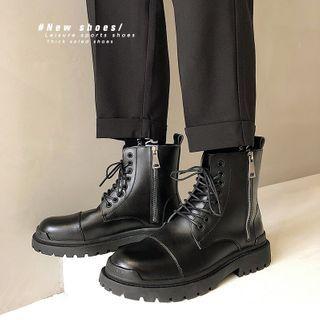 Scherokee - Lace-Up Short Boots