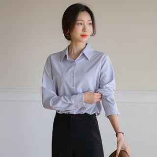 JUSTONE - Wrinkle-Free Textured Shirt