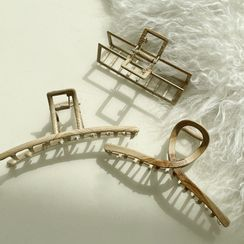 NANING9 - Wooden Frame Hair Claw