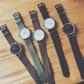 InShop Watches - Nylon Strap Watch