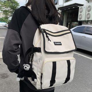 Gokk(ゴック) - Buckled Nylon Backpack