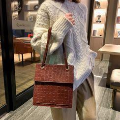 Perlin - Faux Leather Handbag