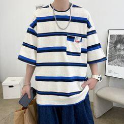 Mattur - Short-Sleeve Striped T-Shirt