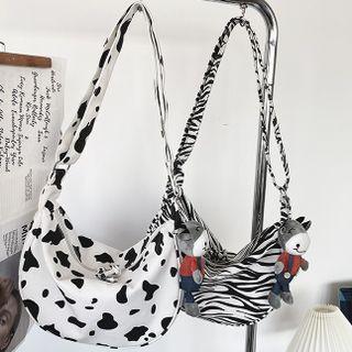 EAVALURE(イーヴァルア) - Print Canvas Crossbody Bag