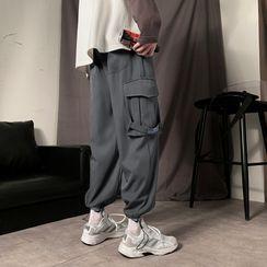 Soulcity - 直筒純色工裝褲