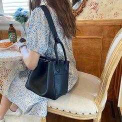 Mirandopa - Faux Leather Bucket Bag