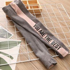 貝殼童裝 - 小童字母內搭褲