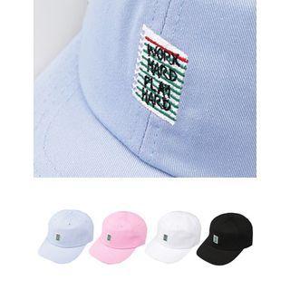 STYLEMAN - Notebook Embroidered Baseball Cap