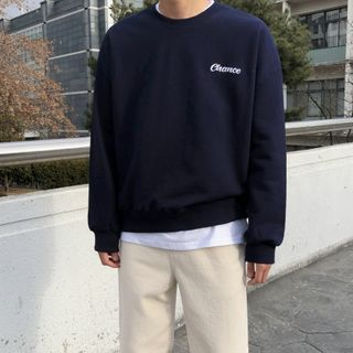 MRCYC - Lettering Embroidered Sweatshirt