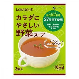 Fine Japan(ファインジャパン) - Japanese Vegetable Soup (3 sachets)