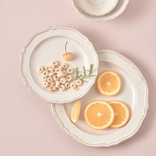Evebe - Printed Ceramic Plate / Saucer