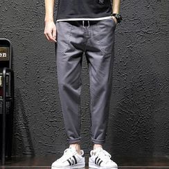 Gurun Vani - Drawstring Tapered Pants