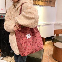 Milha - 圖案燈芯絨手提袋