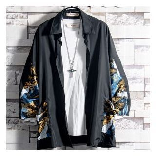 Soinku - Print Long-Sleeve Jacket