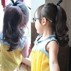 品秀 - 小童波浪馬尾假髪