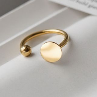 MOMENT OF LOVE - Stainless Steel Open Ring