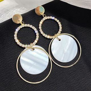 Catalunya(カタルーニャ) - Hoop Drop Earring (Various Designs)