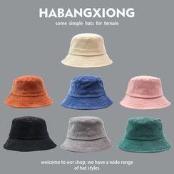 Buttercap - 纯色灯芯绒渔夫帽
