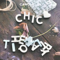 CANDLIA - 字母 / 數字 DIY 香薰蠟燭模具