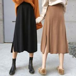 Shopherd - 針織A字中裙