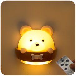默默愛 - 充電式熊夜燈