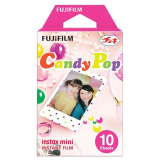 Fujifilm - Fujifilm Instax Mini Film (Candy Pop) (10 Sheets per Pack)