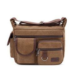 Bagolo - Canvas Crossbody Bag