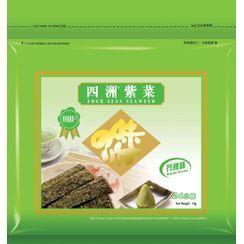 Three O'Clock - Four Seas Seaweed Wasabi Flavor (Pack of 24)