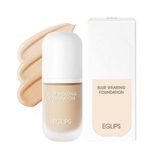 EGLIPS - Blur Wearing Foundation SPF30 PA++ 30ml (3 Colors)