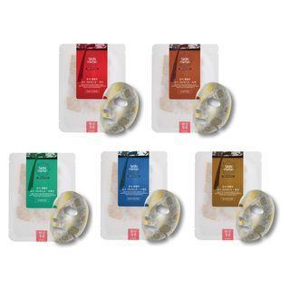 no:hj - Skin Maman Pore Centella Rose Sheet Mask Set - 5 Types
