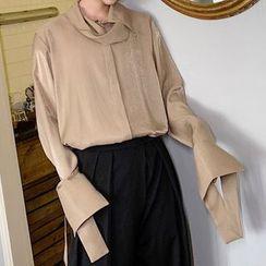 Bjorn - Long-Sleeve Satin Shirt