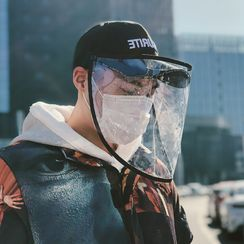 HALAHOME - Baseball Cap with Face Shield