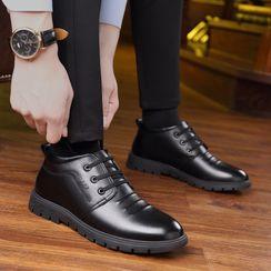 Junster  - 仿皮輕便鞋/仿皮繫帶鞋